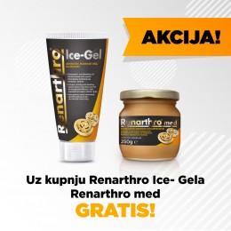 AKCIJA!!! Uz kupnju Renarthro Ice-Gela Renarthro med dobiješ GRATIS!